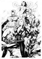 Avengers by Leomatos2014
