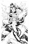 Avalanche and Kitty Pryde