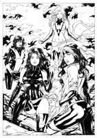 X Girls by Leomatos2014