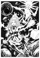 Phoenix and Binary by Leomatos2014