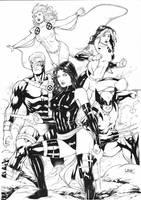 X Men by Leomatos2014