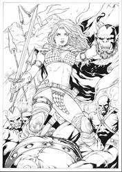Red Sonja by Leomatos2014