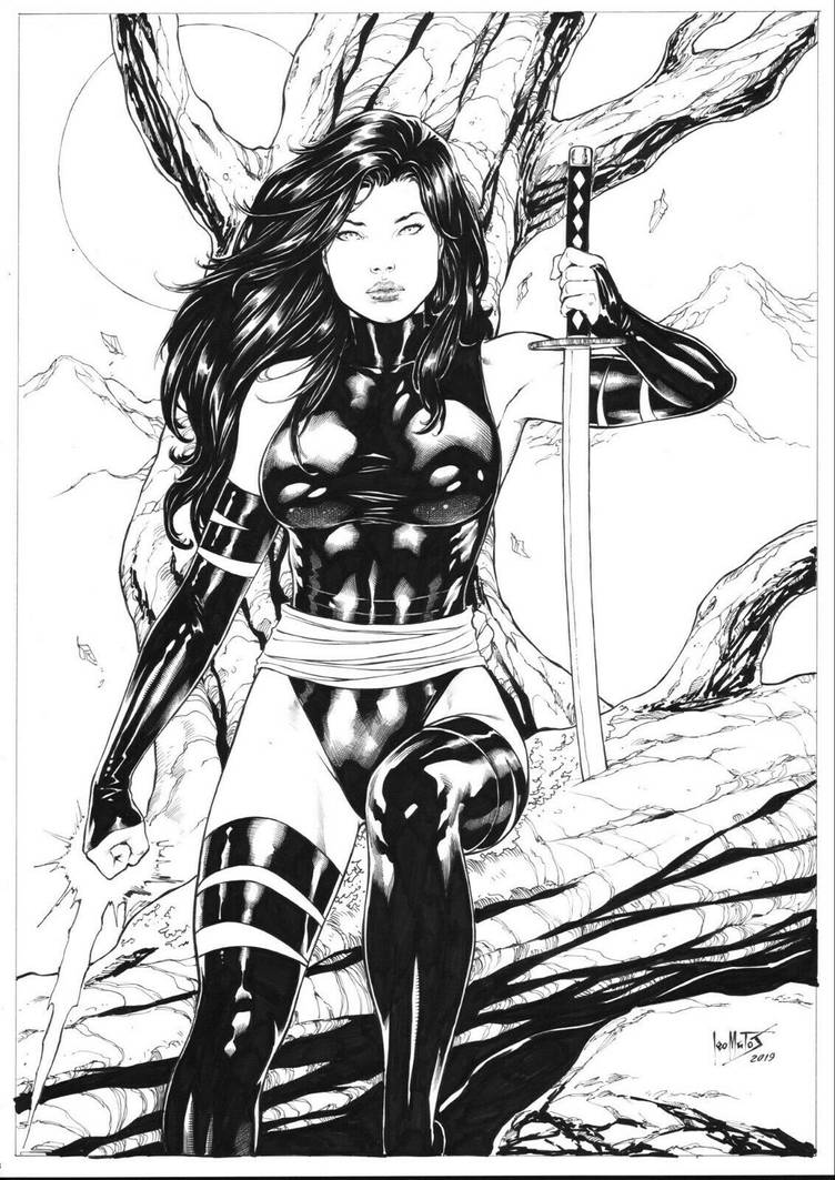 Psylocke by Leomatos2014
