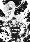 Cyclops and Phoenix