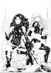 Psylocke and Magik