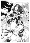Wonder Woman vs Medusa