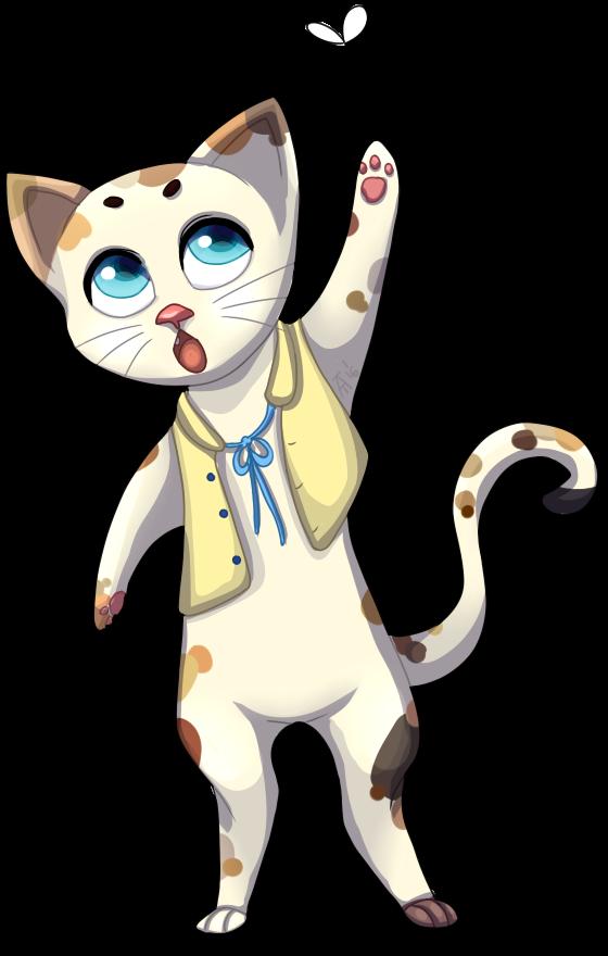 Somma the kitten by ccartsu