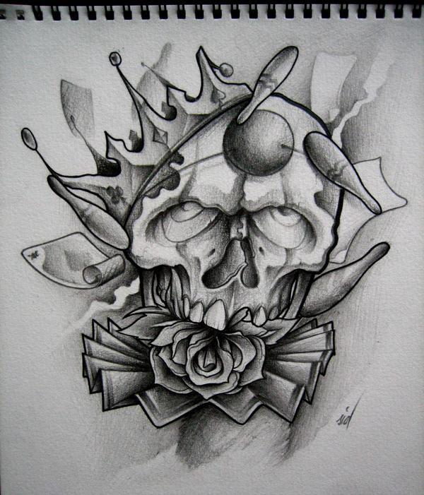 skull 2. by sideusz on DeviantArt