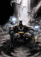 Batman by DAVID-OCAMPO