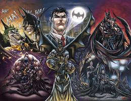 Batman legacy by DAVID-OCAMPO