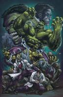 Hulk Transformation by DAVID-OCAMPO