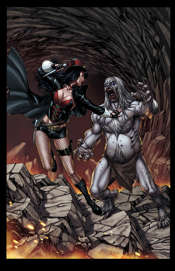 Van Helsing 10th Anniversary Special #6 COVER D by DAVID-OCAMPO