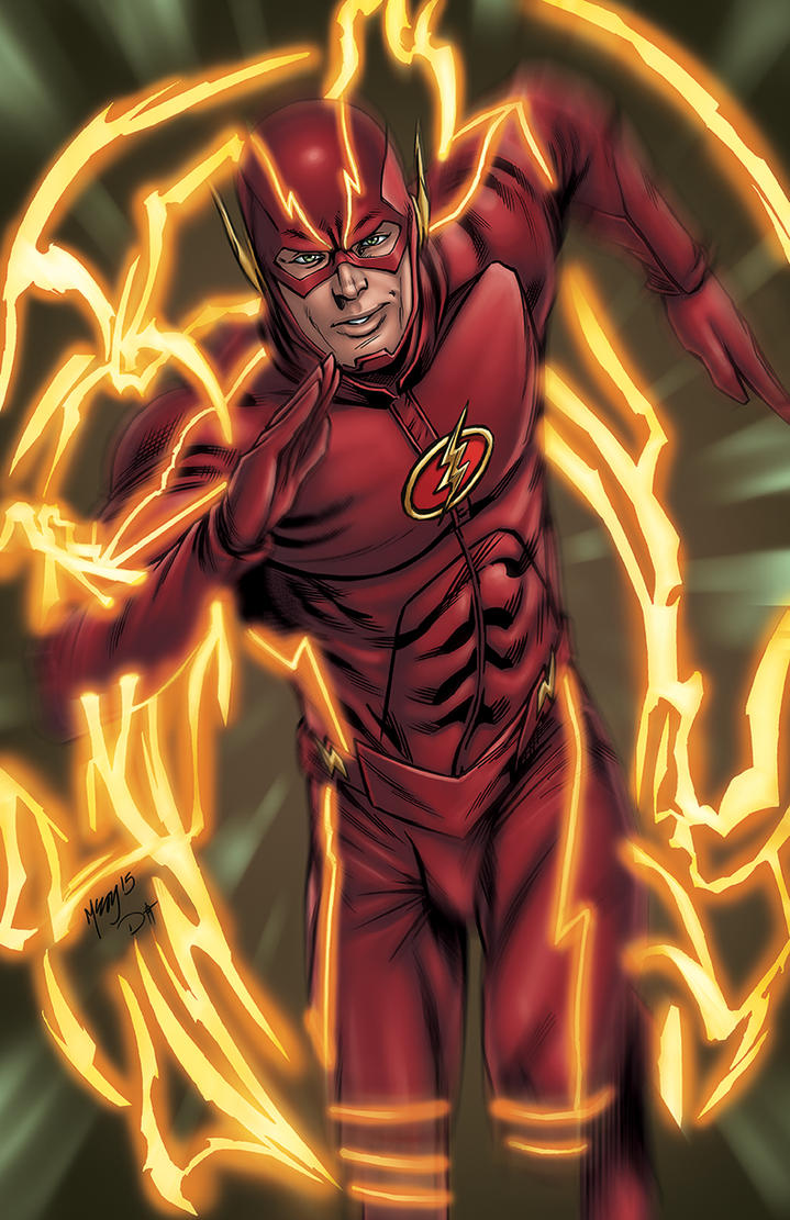 THE FLASH COMMISSION by DAVID-OCAMPO