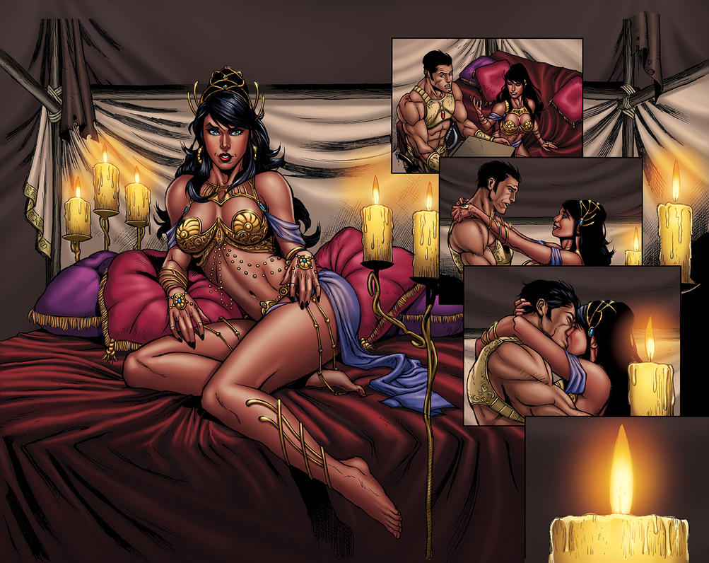 Warlord of Mars #7 Pages 12-13 by DAVID-OCAMPO