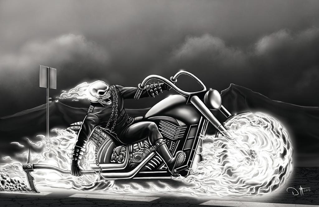 GHOST RIDER by DAVID-OCAMPO