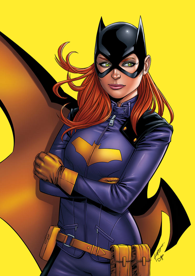 BATGIRL by DAVID-OCAMPO