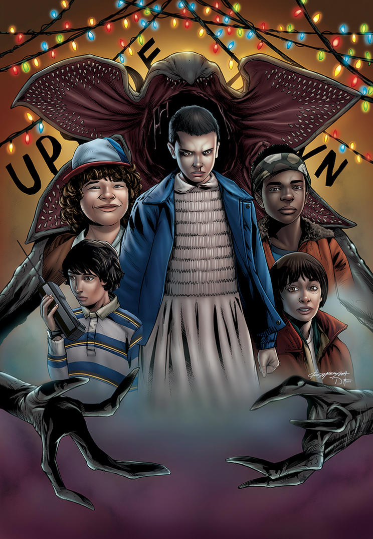 STRANGER THINGS by DAVID-OCAMPO