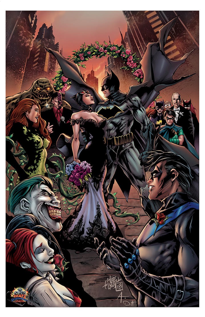 BATMAN/CATWOMAN THE WEDDING EXCLUSIVE PRINT! by DAVID-OCAMPO
