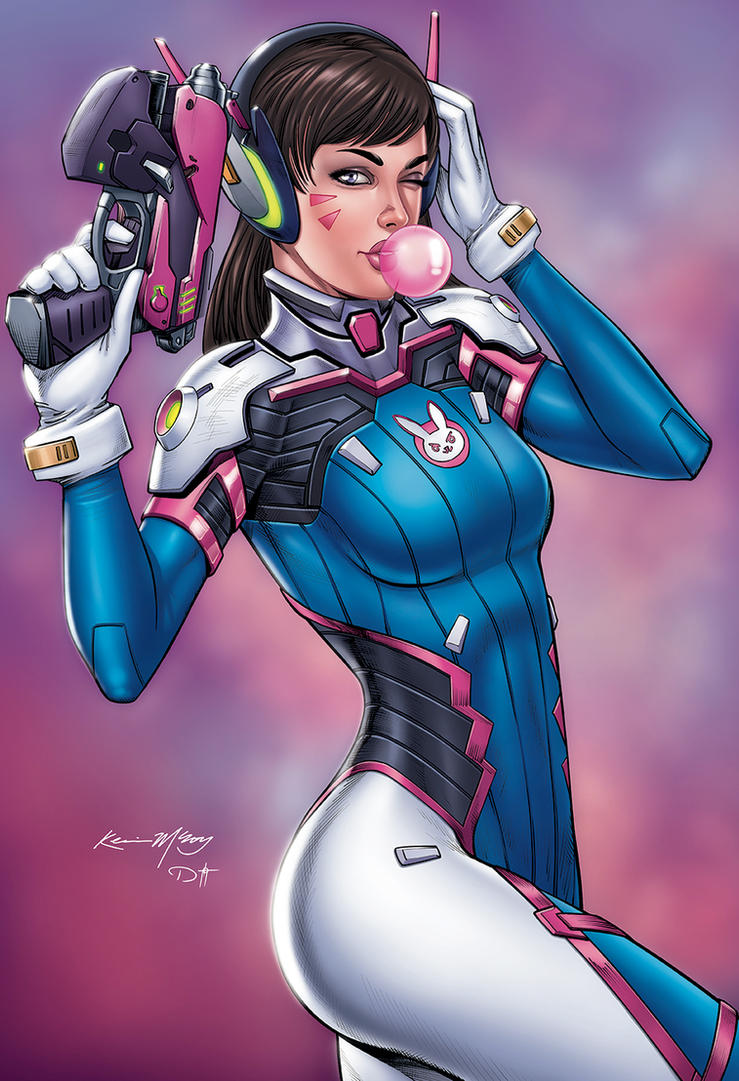 D.Va Overwatch by DAVID-OCAMPO
