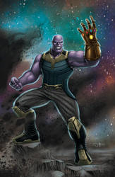 THANOS INFINITY WAR (colored version)