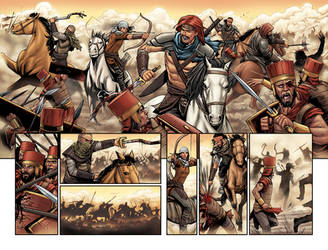 GIANT SLAYER #3 PAGE 11 and 12 by DAVID-OCAMPO