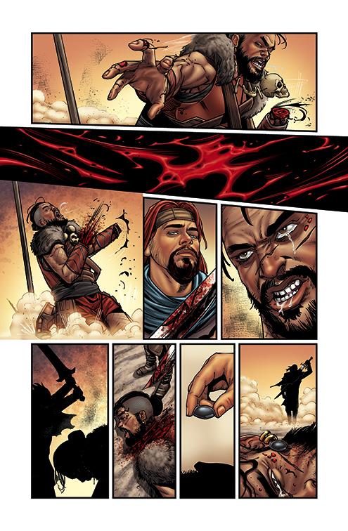 GIANT SLAYER #3 PAGE 15 by DAVID-OCAMPO