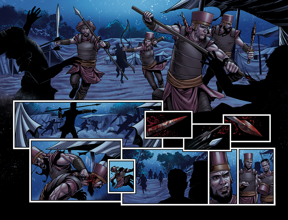 GIANT SLAYER #3 PAGE 19 AND 20 by DAVID-OCAMPO