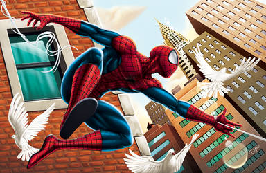 The Amazing Spiderman Commission by DAVID-OCAMPO