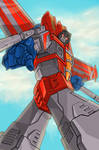 Starscream has spotted you...