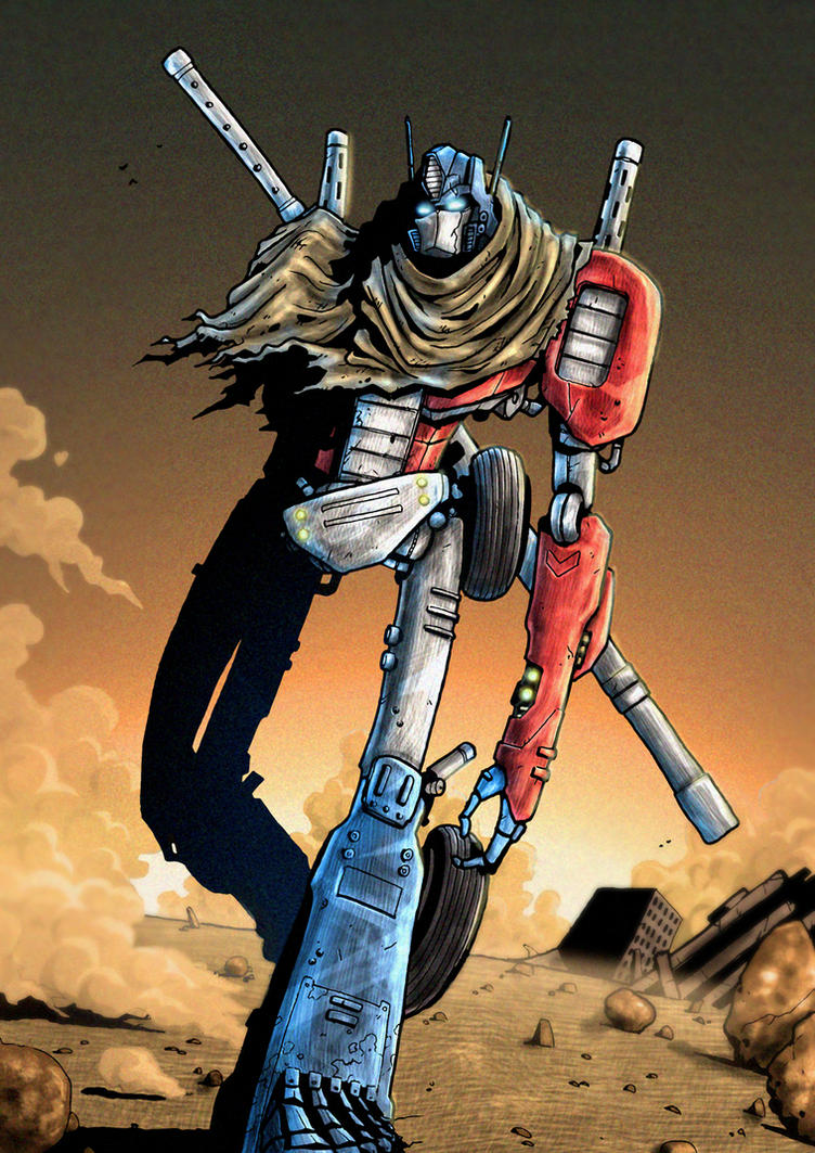 Vagabond Prime Coloured by wordmongerer