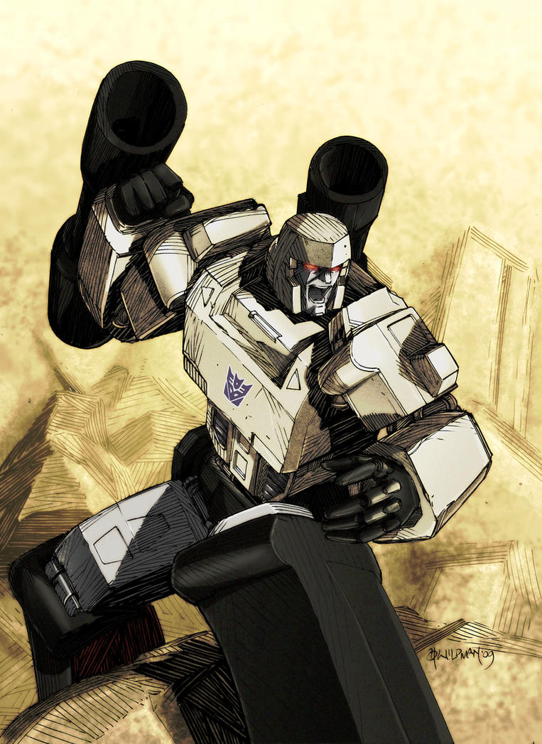 Andy Wildman Megatron by wordmongerer