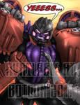 BW Megatron Botcon Print