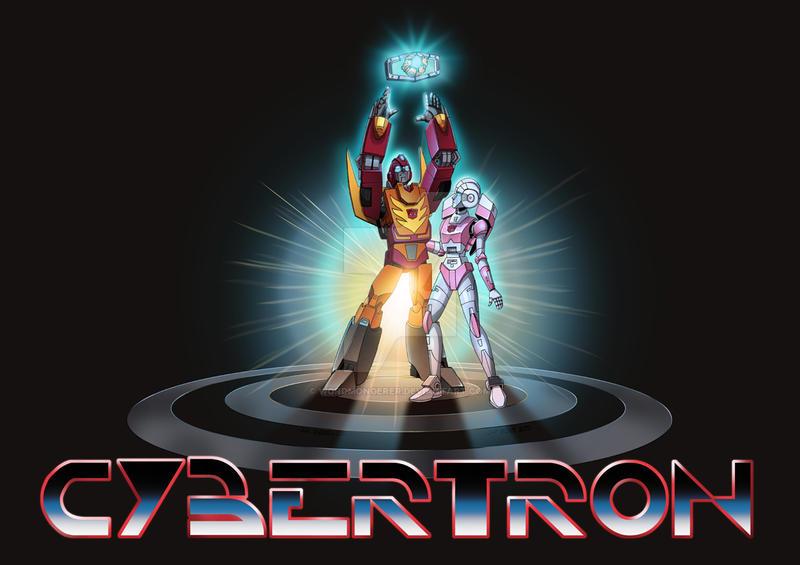 CyberTRON Print by wordmongerer