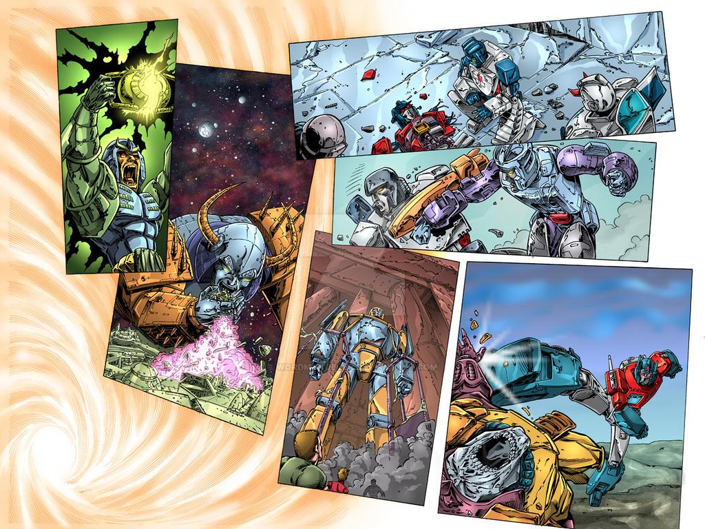 Transformers 80.5 ReGen 1 page 14-15
