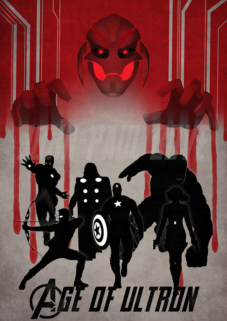 Avengers: Age of Ultron by wordmongerer