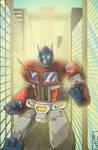 kick-ass Optimus Prime