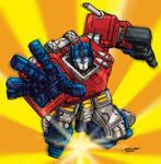 Optimus Prime by Joe Ng