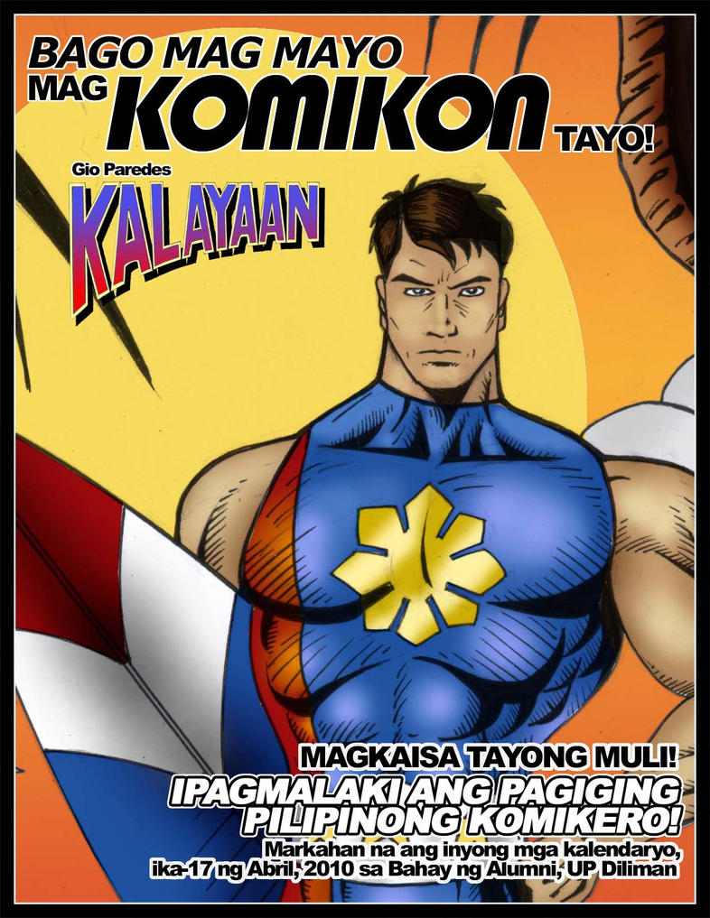 Kalayaan goes to Summer Komiko by gioparedes