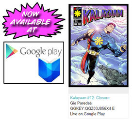 Kalayaan #12 is now available at Google Play Book