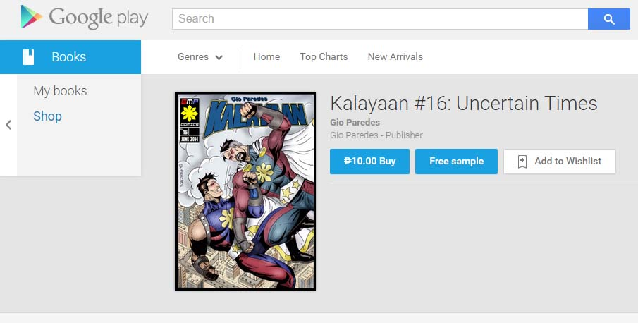 Kalayaan #16 (English version) is now up on Google by gioparedes