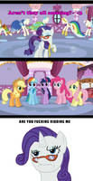 Rarity is fed up.. by Kasun05