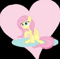Fluttershy Heart by Kasun05