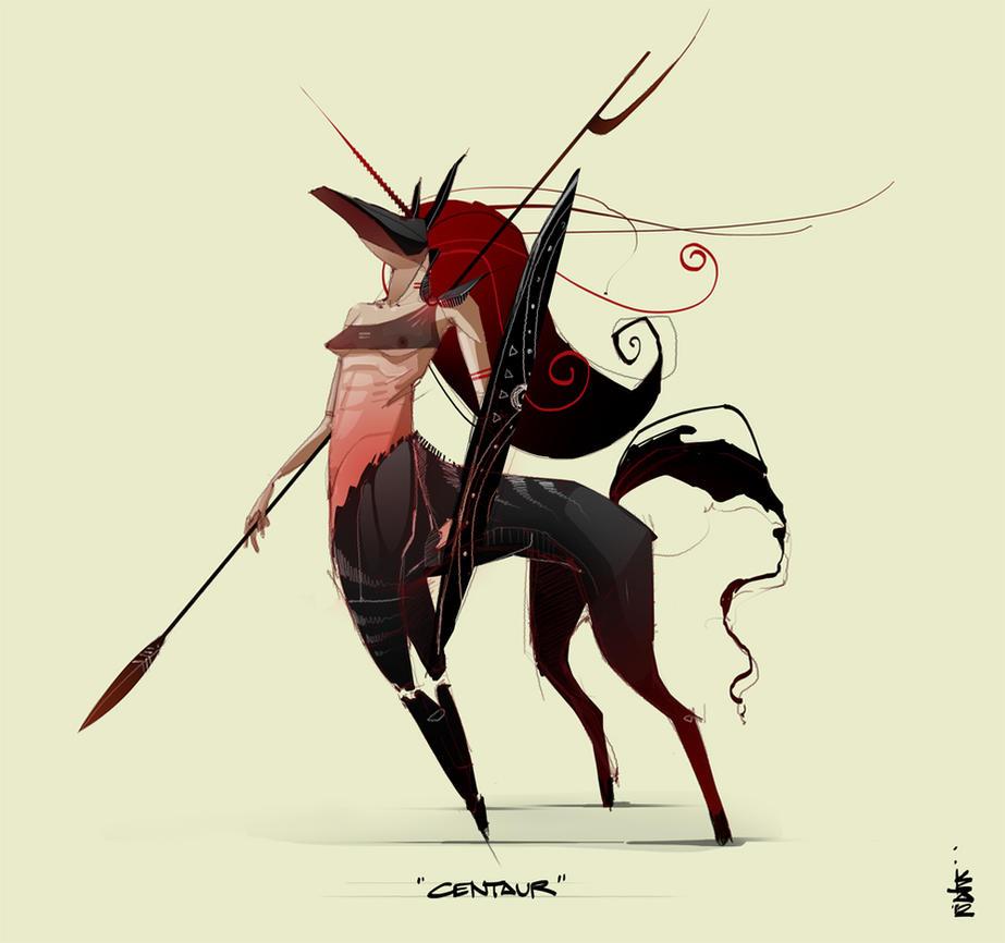 Centaur by stuter