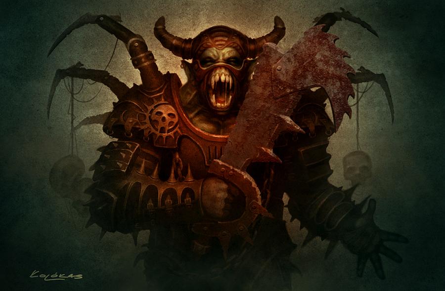 Half Orc by kolokas