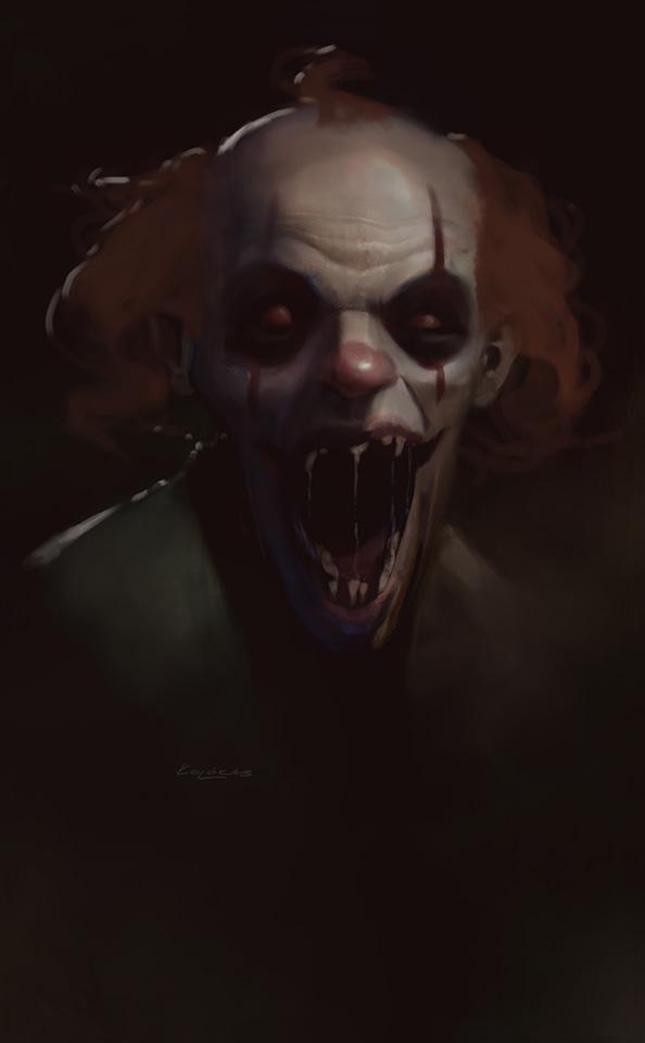 Evil Clown by kolokas