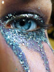 Purple Eye Glitter II