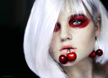 cherry. by cristina-otero