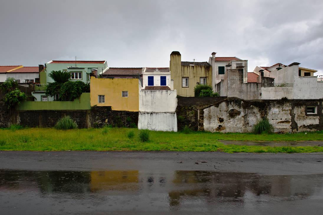 Ponta Delgada rainy by joe279