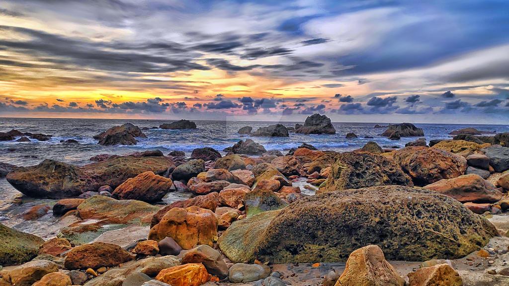 Sunrise in Banten by muhadi65