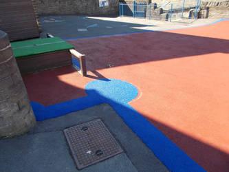 Playground Perimeter Repair Cheshire by PlaygroundMarkings